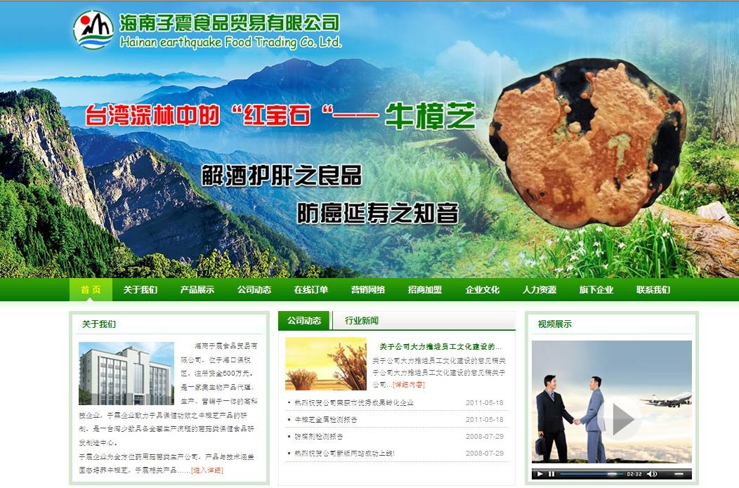 海南子震食品貿易有限公司